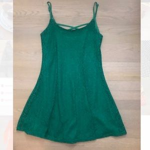 Green A-Line Francesca's Dress - Worn Once!